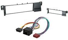 Radioblende 1 DIN für BMW 3  ( E46 ) + ISO Adapter Einbaurahmen BMW 3 Autoradio