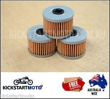 Oil Filter for Honda XR250 XR400 XR600 XR650 3 pack bulk filters XR 650 600 400
