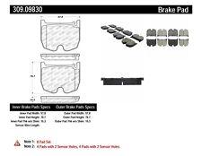 Disc Brake Pad Set-Sport Brake Pads Front Stoptech 309.09830