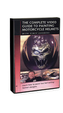 Complete Guide to Painting Motorcycle Helmets DVD Vince Goodeve Airbrush Action