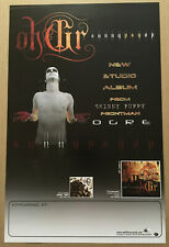 Skinny Puppy Ohgr Rare 2003 Tour Promo Poster For Sunnypsyop Cd Never Displayed