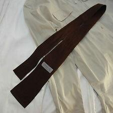 YOHJI YAMAMOTO Pour Homme Cravatta marrone Tie brown color
