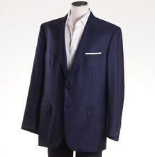 NWT $4995 BRIONI 'Colosseo' Navy Blue Super 160s Wool Blazer 46 R Sport Coat