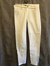White House Black Market Skimmer Jeans White Women's Size 2