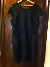 STYLISH CROSSROADS LITTLE BLACK STRAIGHT DRESS SIZE:22 BNWD RRP:$79.99