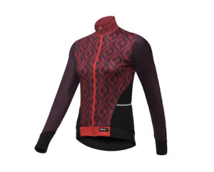 Santini Womens Long Sleeve Coral Jersey New SRP £90 Size Small UK 8-10