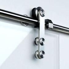 Projeto 150G Single Door Kit For Frameless Glass Sliding Doors, Track Length 2m