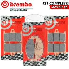 KIT PASTIGLIE FRENO COMPLETO BREMBO XS SINTER YAMAHA XP T-MAX TMAX 500 2008-2011