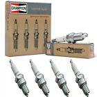 4 pcs Champion Copper Spark Plugs Set for 1947-1950 MG YT L4-1.3L