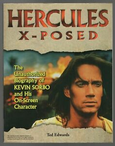 Hercules Exposed 1998 Softcover Edwards Kevin Sorbo W/Fan Club Newsletter VF+