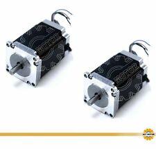 DE Free 1PC Nema23 Schrittmotor 23HS6440-13 4A 56mm 1.25Nm D-Shaft Φ6.35mm 180oz