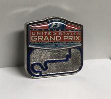 F1 Formula 1 One USGP Event Logo Lapel Hat Pin 2005 NEW Track Map Rare