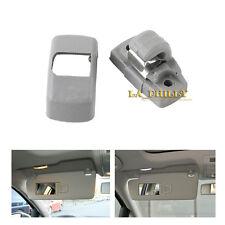 Grey Sun Visor Clip 3B0857561B For VW Golf Jetta Passat SKODA SEAT