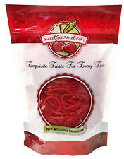 SweetGourmet Gustaf's Licorice Strawberry Laces, 1LB  FREE SHIPPING!