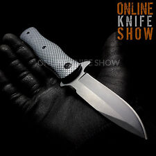 SPRING Carbon Fiber Assisted Folding STILETTO Pocket Knife New! MASTER USA Blade