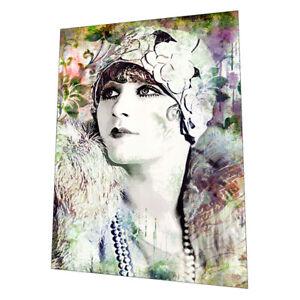 "1920s Art Deco Lady ""Jade"" Wall Art Poster"