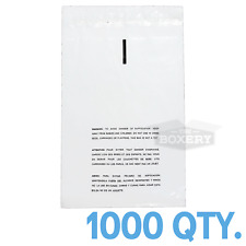 1000 9x12 Self Seal Suffocation Warning Clear Poly Bags 1.5 Mil