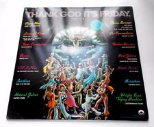 "Thank God It's Friday Soundtrack 1978 R&B Disco 33rpm 2 LPs with Bonus 12""  NM"
