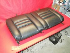 94-98 MUSTANG GT COBRA SVT BLACK LEATHER REAR BACK SEAT UPPER CUSHION SET #143