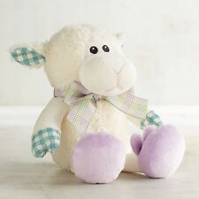 Pier 1 One Imports Pearl the Lamb with Bunny Shoes Stuffed Animal