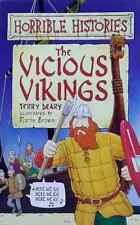 The Vicious Vikings by Terry Deary Horrible Histories Illustrated used paperback