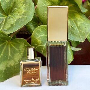 LOT Vintage Royal Secret Germaine Monteil 1.5oz Cologne Concentree & 1/2oz NOS
