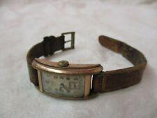 Vintage Swiss Doxa slimline Wrist Watch Anti Magnetic Runs