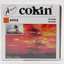 "COKIN ""A"" SERIES A002 ORANGE FILTER - BLACK & WHITE CONTRAST CONTROL - NOS"