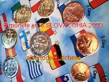 2009 SLOVACCHIA 8 monet 3,88 EURO slovaquie slovakia Slowakei Словакия Slovensko