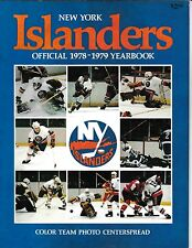 1978-79 New York Islanders Official Yearbook