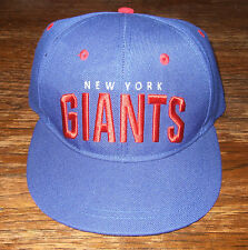 OLD SCHOOL NFL Football New York Giants Budweiser Snapback Baseball Cap/Hat NY C