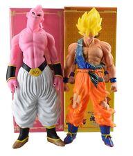 DRAGON BALL Z - GOKU SUPER SAIYAN & MAJIN BUU FIGURAS TAMAÑO GRANDE: 46 cm.