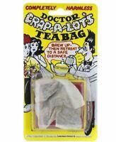 TEA BAG DOCTOR CRAP A LOT Joke Prank Stocking Filler Christmas Gift Fun Toy  UK