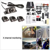 12V 4CH DVR AHD SD 4G Wireless GPS Realtime Video Recorder+4*Cameras Waterproof