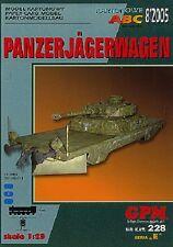 GPM 228 tanques Carro de cazador 1:25
