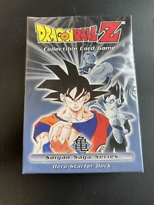 Dragon ball z collectible card game Saiyan saga Series hero starter deck NEW