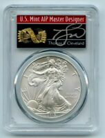 2012 American Silver Eagle $1 PCGS MS70 Thomas Cleveland Arrows Label