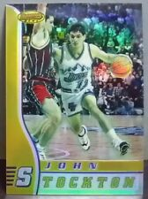 John Stockton card Refractor 96-97 Bowmans Best #30