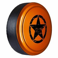 Oscar Mike Star - Painted  Tire Cover - Jeep Wrangler - Copperhead