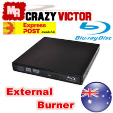 External USB Blu-Ray Burner Writer Player Drive For Windows 7 8 10 Linus Mac OSX
