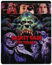 Basket Case - The Trilogy (Limited Edition 3-Disc Steelbook) [Blu... - DVD  F8VG