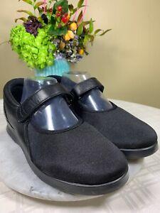 Drew Magnolia Mary Jane Diabetic Orthopedic Black Walking Shoe Women's 10 WW EUC