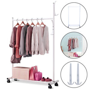 Clothes Rail Rack Garment Dress Hanging Display Stand Shoe Rack Storage Shelf.UK