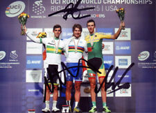Peter Sagan, Matthews, Navardauskas Signed 5X7 inch 2015 World Road Race Photo