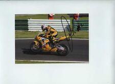 Leon Camier Bike Animal Honda BSB 2007 Signed Photograph