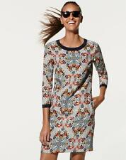 J CREW Misty Fog Shift dress NWT $198 sz 6 Floral print silk #07484
