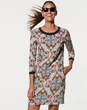 J CREW Misty Fog Shift dress NWT $198 sz 6 Floral print silk #07484