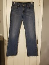 Lucky Brand Classic Fit Jeans Size 8 29 medium wash C004