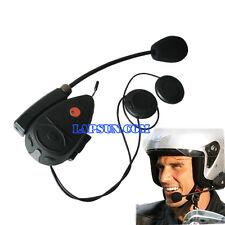 100m Bike To Bike Bluetooth Intercom Talk Motorcycle Helmet Headset FM Radio V1
