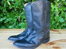 1990's Justin Leather Boots Women's Size 6B Classic Black used